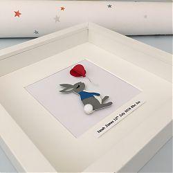 Peter Rabbit and balloon