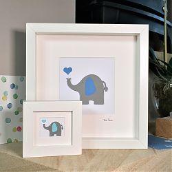 Elephant and heart